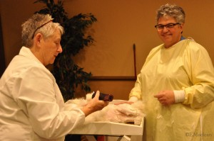 Penny and Michaele Shearing for Registration