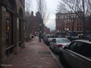 Portland, Maine Streetscape